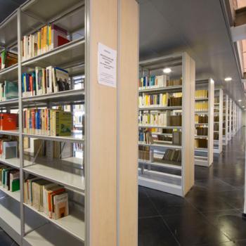 tutte le collezioni librarie sono a scaffale aperto